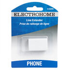 Electrohome Modular In-line Couple - White - ELS68WH