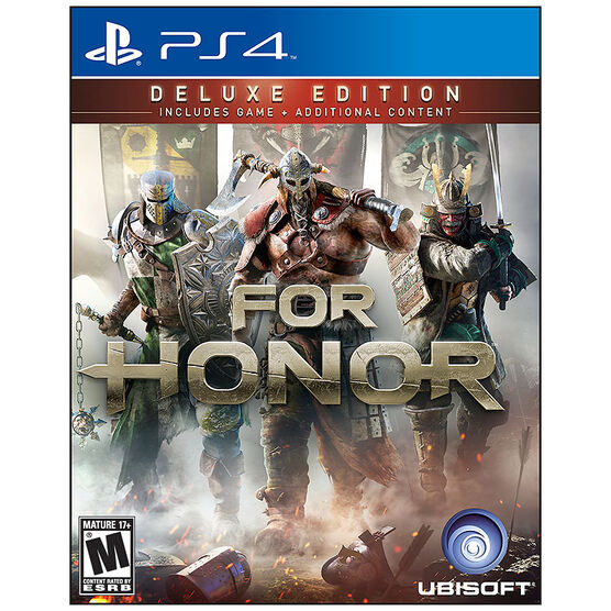 PRE-ORDER: PS4 For Honor: Deluxe Edition
