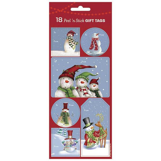 Christmas Snow Fun Gift Tags - 18s