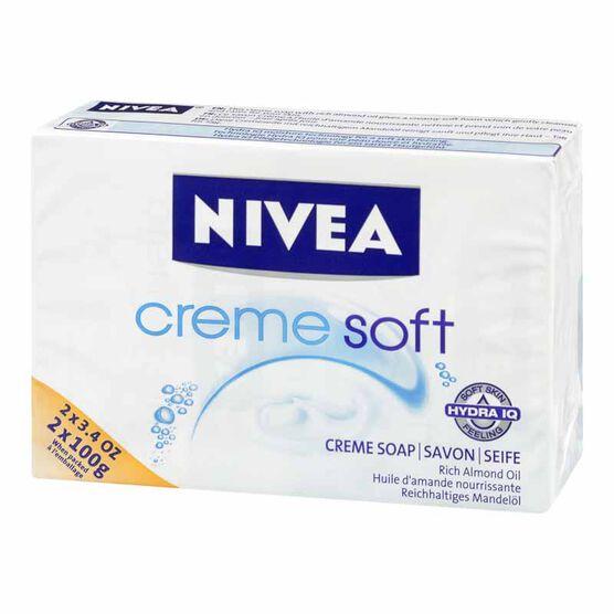 Nivea Creme Soft Creme Soap - 2x100g