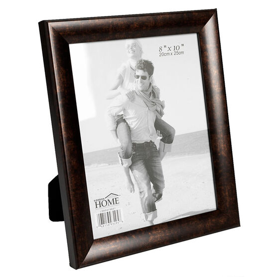 London Home Black Copper Frame - 8x10 inch