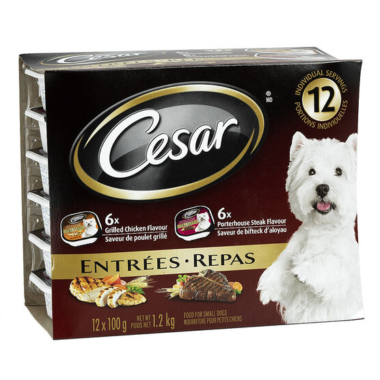 Cesar Porterhouse Steak/Grilled Chicken - 12x100g