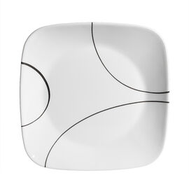 Corelle Square Simple Lines Lunch Plate - 8.75inch