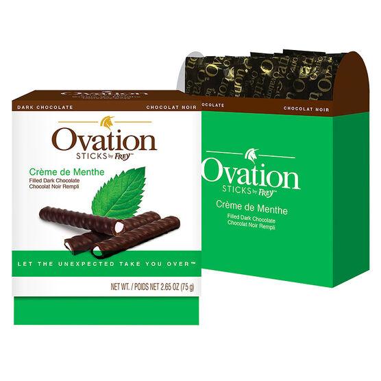 Ovation Chocolate Sticks - Mint - 75g