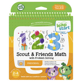 LeapStart Book - Scout Math - Level 1