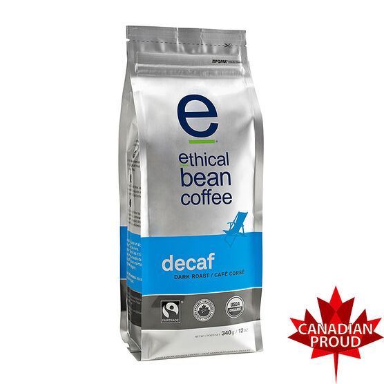 Ethical Bean Coffee - Decaf - 340g