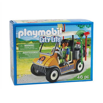 Playmobil City Life - Zookeeper's Cart