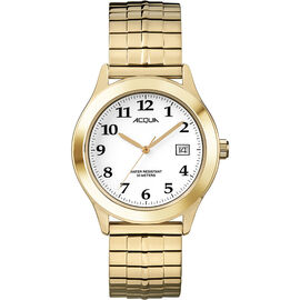 Timex Acqua Full Size Expansion Watch - Gold/White