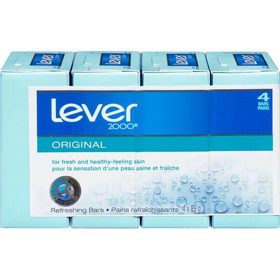 Lever 2000 Refreshing Bars - Original - 4 x 89g