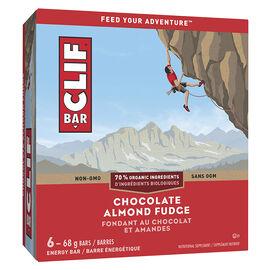 Clif Bar - Chocolate Almond Fudge - 6 x 68g