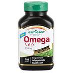 Jamieson Omega 3-6-9 - 1,200 mg - 180's