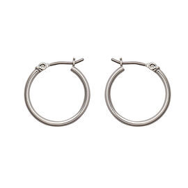 Nine West Basic Hoop Earrings