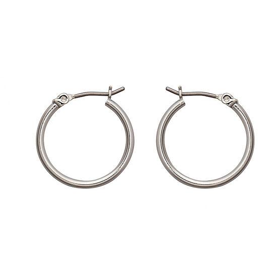 Nine West Basic Hoop Earrings