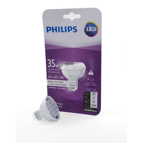 Philips MR16 LED Light Bulb - Bright White - 8.5w/50w