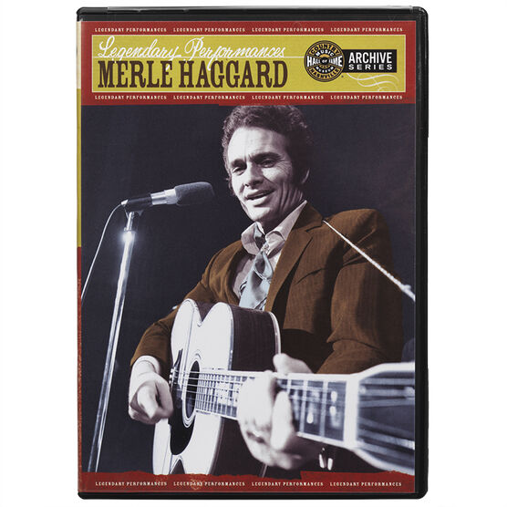 Merle Haggard - Legendary Performances - DVD