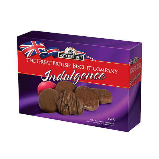 Waterbridge The Great British Biscuit Indulgence - Milk Chocolate - 450g