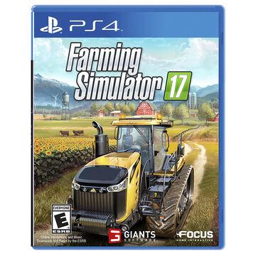 PRE-ORDER: PS4 Farming Simulator 17