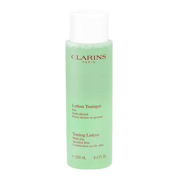 Clarins Toning Lotion with Iris - Combination or Oily Skin - 200ml