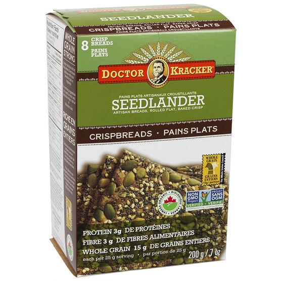 Doctor Kracker Organic & Artisan Baked Flatbread - Seedlander - 200g
