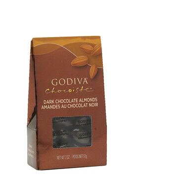 Godiva Dark Chocolate Almonds - 57g
