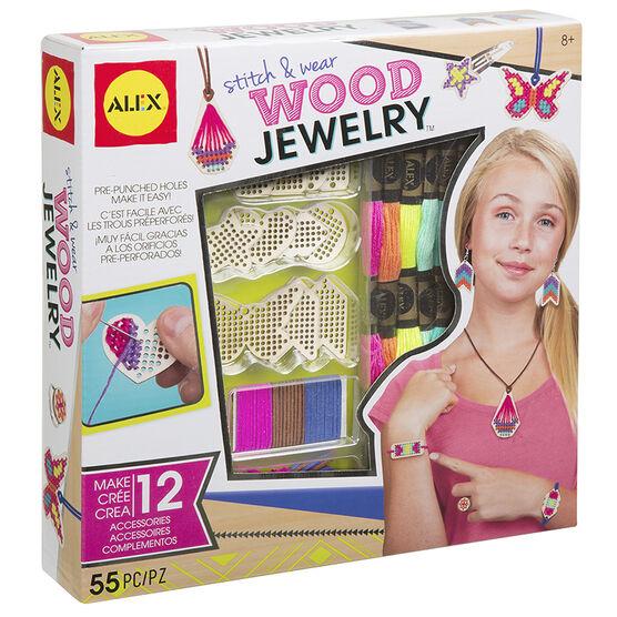 Alex Stitch & Wear Wood Jewelry