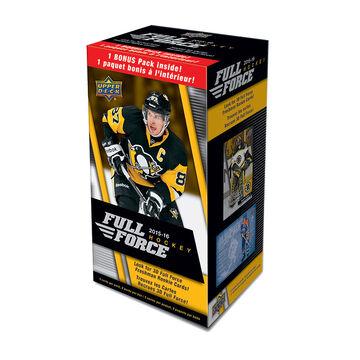 2015-16 Upper Deck Full Force Hockey Blaster