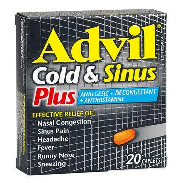 Advil Cold & Sinus Plus - 20's