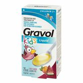 Gravol Pediatric Alcohol-free Liquid - 75ml