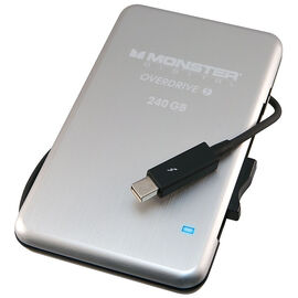Monster 240GB OverDrive Thunderbolt SSD External Drive - SSDOT-0240-A