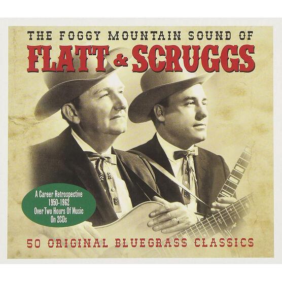 Flatt and Scruggs - The Foggy Mountain Sound of Flatt and Scruggs - 2 CD