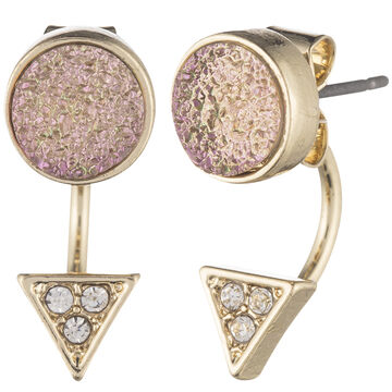 Lonna & Lilly Drusy Floater Earring - Natural
