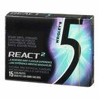 Wrigley's 5 Gum - React Mint - 15 pieces