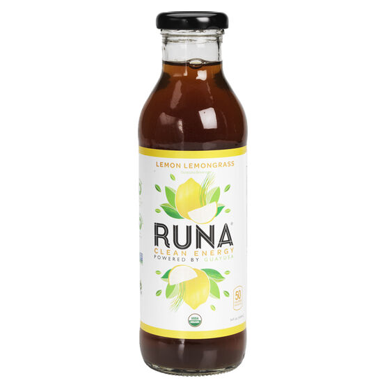 Runa Organic Guayusa Tea - Lemongrass - 414ml