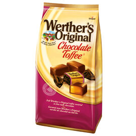 Werther's Original Toffee Candy - Chocolate Toffee - 125g