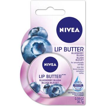 Nivea Lip Butter - Blueberry Blush - 16.7g