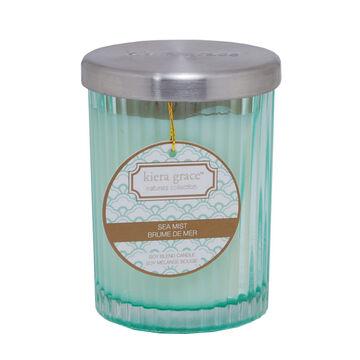 Kiera Grace Naturals Collection Glass Candle -Sea Mist -  6oz