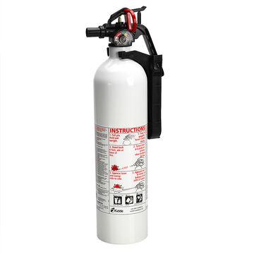 Kidde Fire Extinguisher - White - 1A10BC