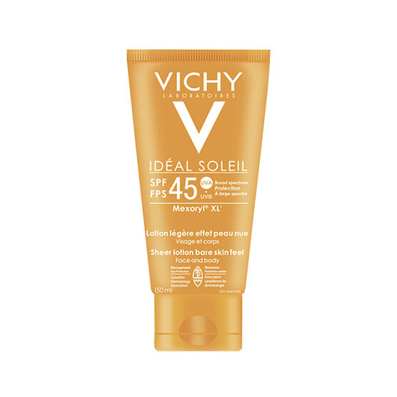 Vichy Ideal Soleil Sheer Lotion Bare Skin Feel SPF 45 - 150ml