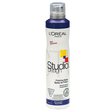 L'Oreal Studio Line Design Fix & Shine Spray - Strong Hold - 300ml