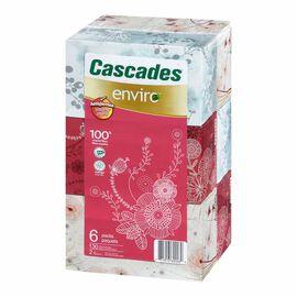 Cascades Enviro Facial Tissue - 6's