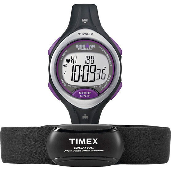 Timex Ironman Road Trainer Watch - Sliver/Purple - T5K732L3