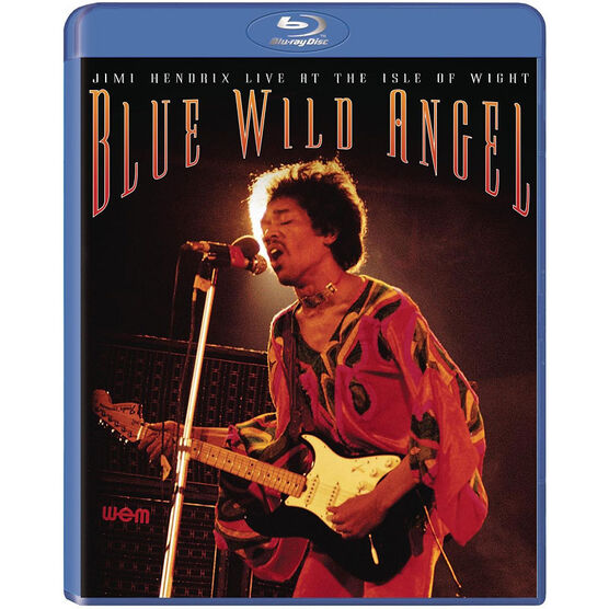 Jimi Hendrix Live at the Isle of Wight: Blue Wild Angel - Blu-ray