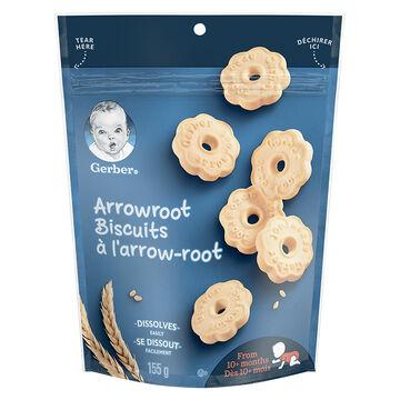 Gerber Arrowroot Biscuits - 155g