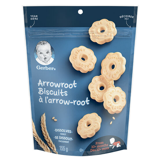 Gerber Arrowroot Biscuits - 155g