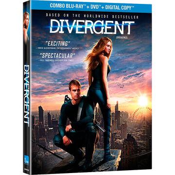 Divergent - Blu-ray + DVD + Digital Copy