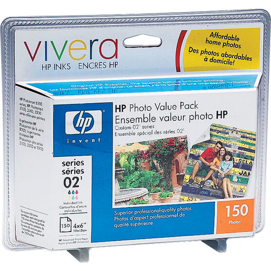 HP 2 Photo Value Pack - 150 Sheets Photo Paper - Q7964AC-140
