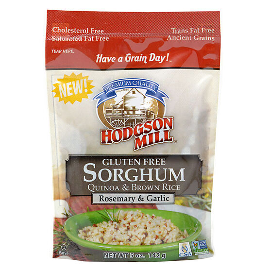 Hodgson Mill Gluten Free Sorghum Quinoa & Brown Rice - Rosemary & Garlic - 142g