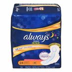Always Maxi Overnight Fresh with Flexi-Wings - 24's