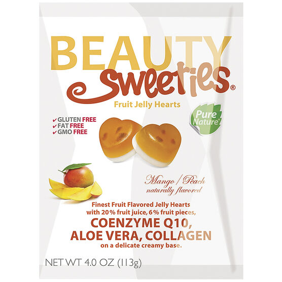 Beauty Sweeties Fruit Flavoured Jelly Hearts - Mango - 113g
