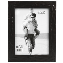 London Home Black Metallic Frame - 6x8